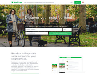 thevillageca.nextdoor.com screenshot