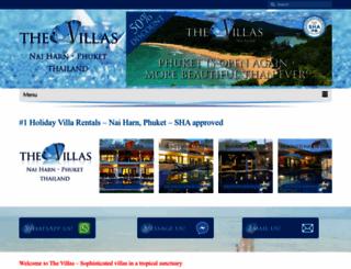 thevillas-phuket.com screenshot