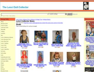 thevintagedollcollector.com screenshot