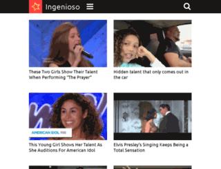 thevoice.ingenioso.tv screenshot