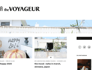 thevoyageur.net screenshot