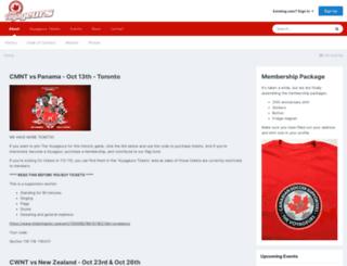 thevoyageurs.org screenshot