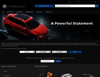 thevwpartsstore.com screenshot