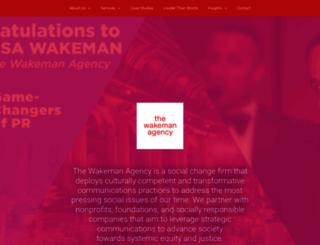 thewakemanagency.com screenshot