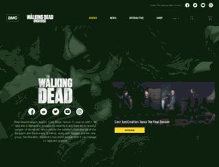 thewalkingdeadfantasysweepstakes.com screenshot