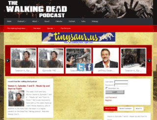 thewalkingdeadpodcast.com screenshot