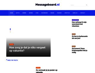 thewallow.messageboard.nl screenshot