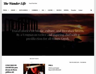 thewanderlife.com screenshot
