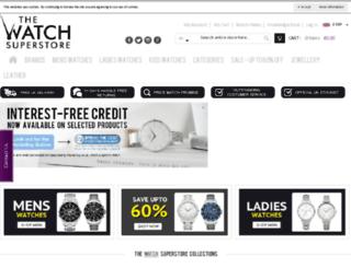 thewatchsuperstore.com screenshot