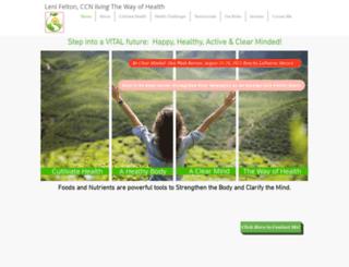 thewayofhealth.com screenshot