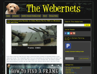 thewebernets.com screenshot