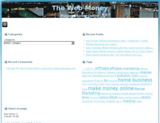 thewebmoney.net screenshot