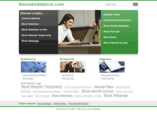 thewebsiteblock.com screenshot