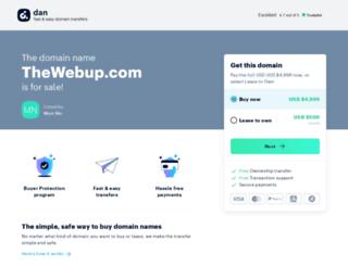 thewebup.com screenshot