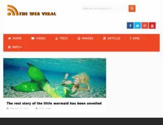 thewebviral.com screenshot