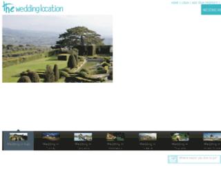theweddinglocation.com screenshot
