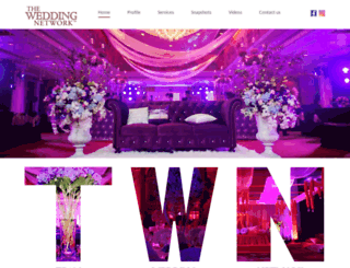 theweddingnetwork.in screenshot