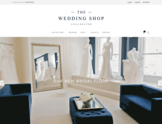 theweddingshop.co.uk screenshot