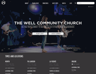 thewellcommunity.org screenshot