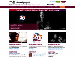 thewellproject.org screenshot