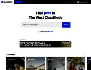 thewestclassifieds.com.au screenshot