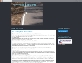 thewhitedsepulchre.blogspot.com screenshot
