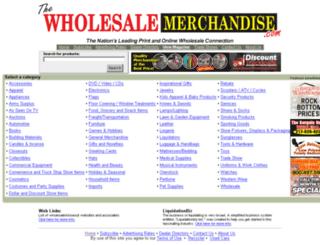 thewholesalemerchandise.com screenshot