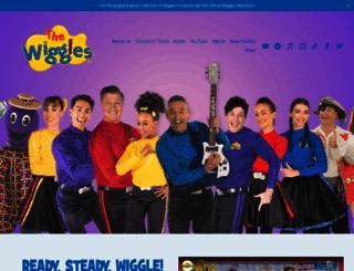 thewiggles.com screenshot