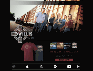 thewillisclan.com screenshot