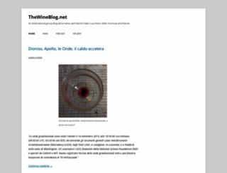 thewineblog.net screenshot