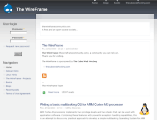 thewireframecommunity.com screenshot