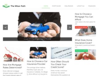 thewiserpath.com screenshot