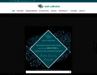 thewishcollection.co.za screenshot