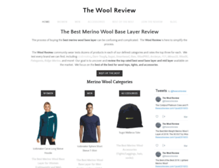 thewoolreview.com screenshot