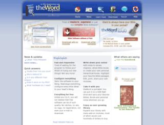 theword.gr screenshot