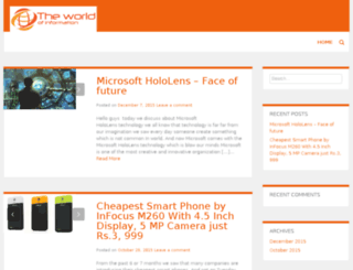 theworldofinfo.com screenshot