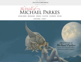 theworldofmichaelparkes.com screenshot