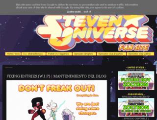 theworldofstevenuniverse.blogspot.co.uk screenshot