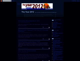 theyear2012.blogspot.com screenshot