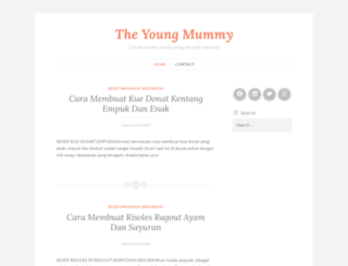 theyoungmummy.wordpress.com screenshot