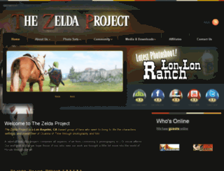 thezeldaproject.net screenshot