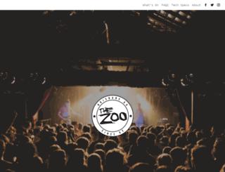 thezoo.com.au screenshot