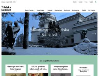 thielska-galleriet.se screenshot