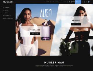 thierrymugler.com screenshot