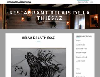 thiesaz.ch screenshot