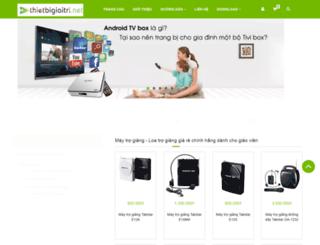 thietbigiaitri.net screenshot