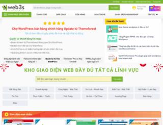 thietkeweb3s.com screenshot