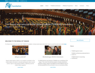 thimun.org screenshot