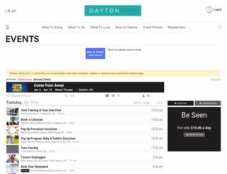 thingstodo.dayton.com screenshot