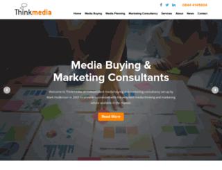 think-media.co.uk screenshot